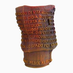 Vaso Goto in resina di Gaetano Pesce, anni '90