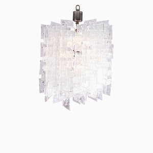 Large Glass Chandelier by Carlo Nason for Mazzega