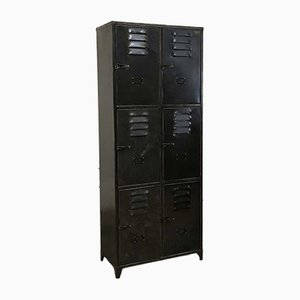 Vintage Locker with 6 Doors from Schwartz Hautmont