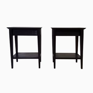 Vintage Bedside Tables, 1950s, Set of 2
