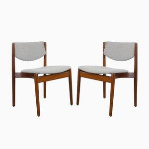 Dänische Modell 197 Stühle von Finn Juhl für France & Søn, 1960er, 2er Set