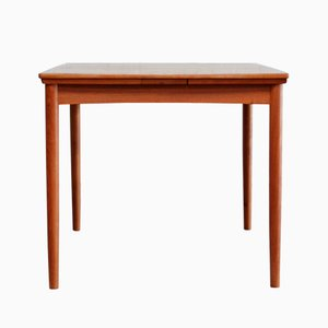 Vintage Danish Extendable Dining Table by Poul Hundevad for Hundevad & Co.