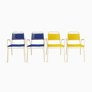Garden Chairs from Mauser Werke Waldeck, 1960s, Set of 4