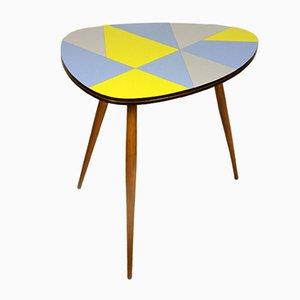 Table Basse Multicolore Tchèque en Formica, 1960s