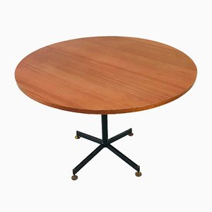 Mid-Century Circular Dining Table by Ignazio Gardella