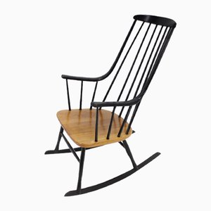 Scandinavian Grandessa Rocking Chair by Lena Larsson for Nesto, 1958