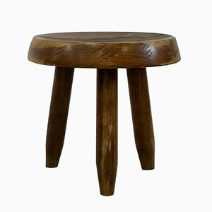 Low Walnut Chair by Charlotte Perriand, 1950