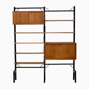 Royal System Teak Wall Unit by Poul Cadovius for Cado, 1960s