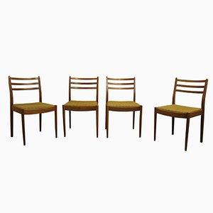 Esszimmerstühle von E. Gomme für G-Plan, 1960er, 4er Set
