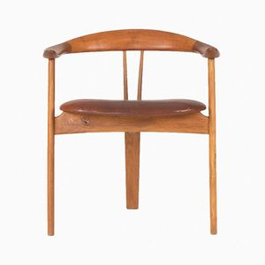 Teak Armchair by Arne Hovmand Olsen for Mogens Kold, 1950s