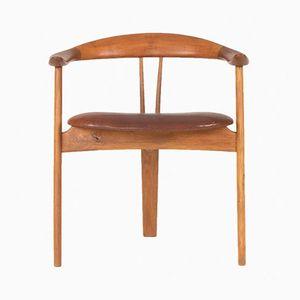 Teak Armlehnstuhl von Arne Hovmand Olsen für Mogens Kold, 1950er