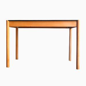 Table Vintage en Broussin avec Plateau Laqué Noir, Danemark