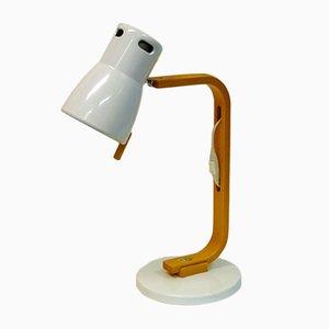 Model B288 Beech & Metal Table Lamp by Hans Agne Jakobsson, 1979