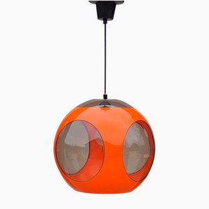 Orange Space Age Lamp by Luigi Colani, 1970s