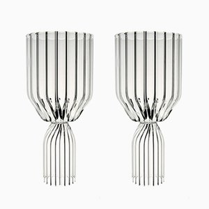 Margot White Wine Goblets by fferrone, Set of 2