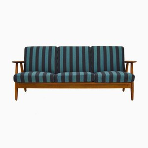 Model GE 240 Cigar Sofa by Hans J. Wegner for Getama, 1950s