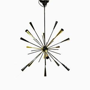 Lámpara de araña Sputnik vintage