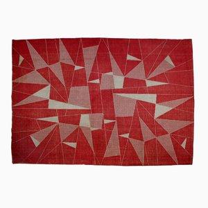 Tappeto geometrico, anni '50