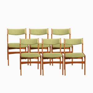 Vintage OD 49 Chairs by Erik Buch for Oddense Maskinsnedkeri, Set of 6