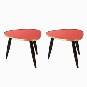 German Vintage Tables, 1950s, Set of 2