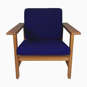 Modell 2451 Sessel aus Eiche von Søren Holst für Fredericia, 1980er