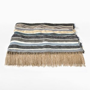 Hand Woven Throw from Joanna Louca Woven Editions, 2018