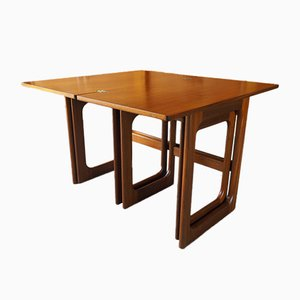 Mid-Century Teak Nesting Tables from McIntosh