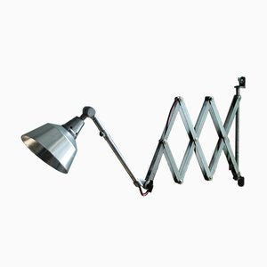 Vintage German Large Scissor Wall Lamp by Curt Fischer for Midgard