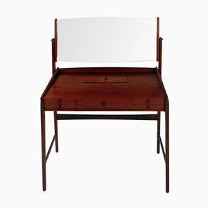 Danish Teak Vanity Table by Svend Aage Madsen, 1960s