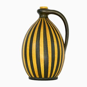 Ceramic Jug with Geometric Pattern from Wilhelm Kagel, 1950s