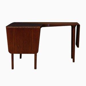 Mesa de centro de teca de Johannes Andersen, años 60