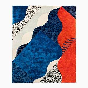 Großer Siebdruck Teppich von Les Graphiquants für Moustache, 2018