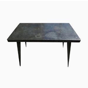 Tavolo da bistrò industriale di Xavier Pauchard per Tolix, anni '40