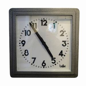 Vintage French Square Clock from Brillé