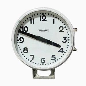 Horloge de Gare Industrielle de Lepaute, France, 1960s