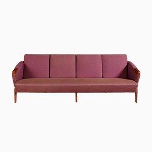 Vintage 4-Sitzer Sofa von Arne Hovmand-Olsen
