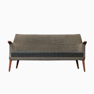 Vintage 3-Sitzer Sofa mit Wollbezug von Poul M. Jessen, 1960er