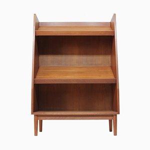 Dänisches Teak Bücherregal, 1960er