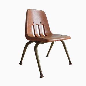 Chaise d'Enfant Vintage Industriel de Virco Los Angeles
