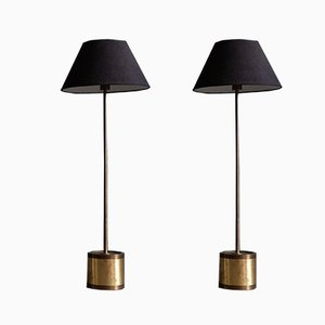 Model G-123 Floor Lamps by Hans-Agne Jakobsson, 1960s, Set of 2