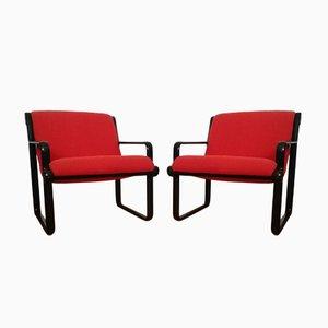 Model 2011 Armchair by Bruce R. Hannah & Andrew Ivar Morrison for Knoll International, 1970s