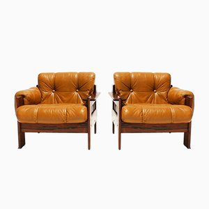 Lounge Chairs by Torbjørn Afdal for Bruksbo, 1960s, Set of 2