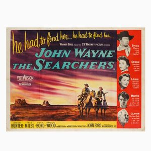 The Searchers Movie Poster, 1956
