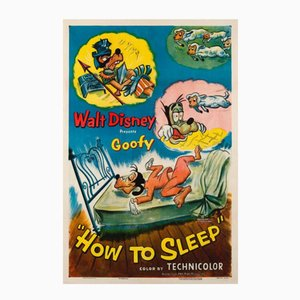 Cartel de la película How to Sleep, 1953
