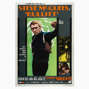 Poster del film Bullitt di Roberto Ferrini, 1968