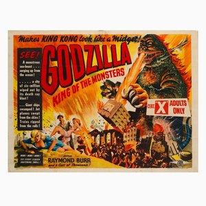 Cartel de la película Godzilla, 1956