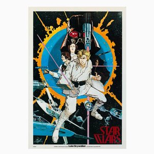 Poster del film Star Wars di Howard Chaykin, 1976