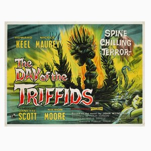The Day of The Triffids Movie Poster, 1962