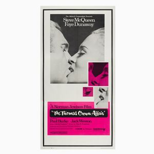 The Thomas Crown Affair Movie Poster, 1968