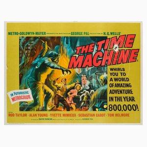 Poster del film The time machine di Reynold Brown, anni '60